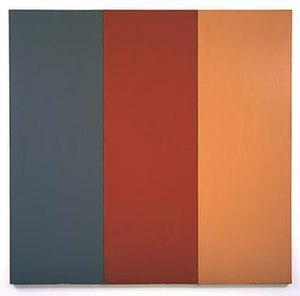 Brice Marden - Brice Marden, For Pearl, 1970, 96 1/2 x 98 3/4 x 2 1/8 in, Glenstone