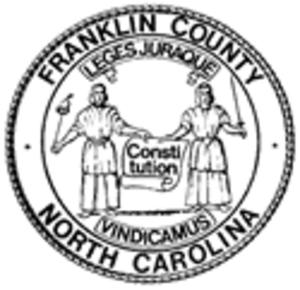 Franklin County, North Carolina - Image: Franklin County, North Carolina seal