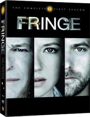 Fringe (season 1) - Region 1 DVD cover