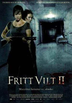 "Cold Prey 2 - Poster of ""Fritt Vilt II"""