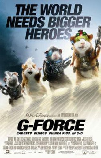 G-Force (film) - Theatrical release poster