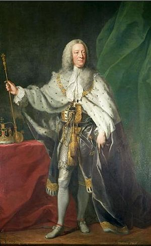 1758 in art - George II by Shackleton – this painting was given by the artist in May 1758 to the Foundling Hospital in London, in return for which he was elected a governor and guardian.