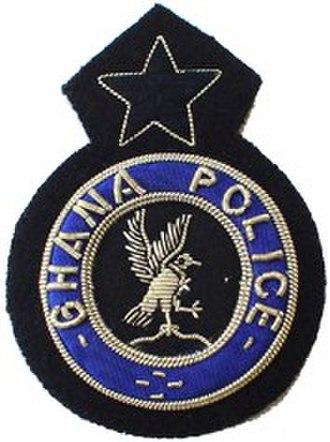 Ghana Police Service - Image: Ghana Police Service (GPS) patch