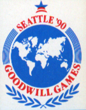 Goodwill Games - Image: Goodwill Games Seattle 1990 logo
