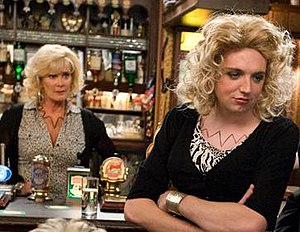 Graeme Proctor - Graeme dresses as Liz McDonald after being encouraged by Teresa Bryant, one of the character's comedy storylines. (2009)