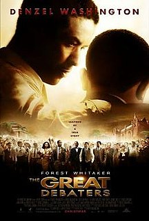 <i>The Great Debaters</i> 2007 American film