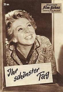 <i>Her Most Beautiful Day</i> 1962 German film directed by Paul Verhoeven