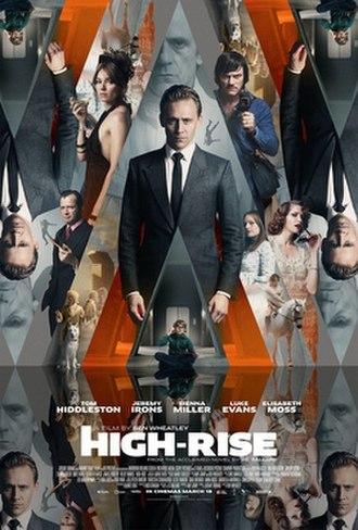High-Rise (film) - Teaser poster