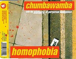 Homophobia (song) - Image: Homophobia chumbawamba