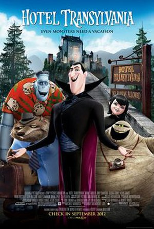 Hotel Transylvania - Theatrical release poster