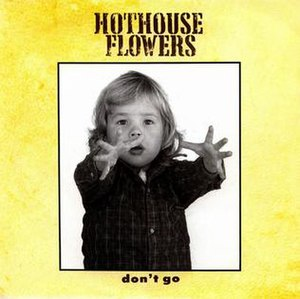 Don't Go (Hothouse Flowers song) - Image: Hothouse Flowers Don't Go