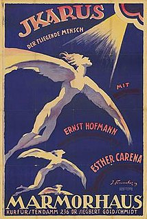 <i>Ikarus, the Flying Man</i> 1918 film by Carl Froelich