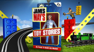 <i>James Mays Toy Stories</i> television series