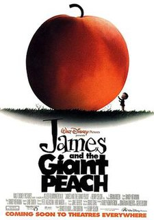 <i>James and the Giant Peach</i> (film) 1996 animated film directed by Henry Selick