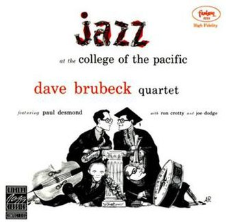 Jazz at the College of the Pacific - Image: Jazz atcollege
