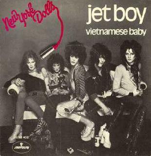 Jet Boy 1973 single by New York Dolls