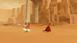 Journey (2012 video game) - Image: Journey PS3 Screenshot