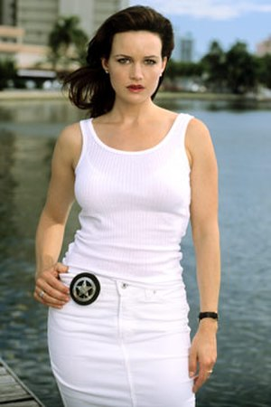 Karen Sisco - Carla Gugino as Karen Sisco