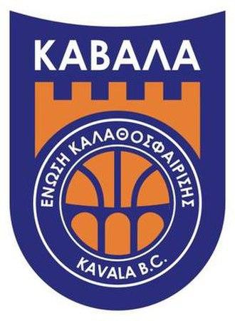 Union Kavala B.C. - Image: Kavala bc logo