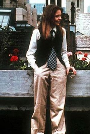 Annie Hall - Keaton's dress style for Annie Hall was an influence on the fashion world during the late-70s.