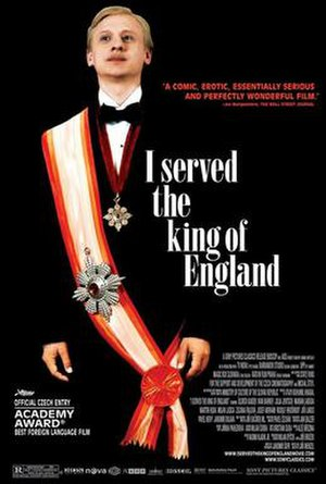 I Served the King of England (film) - Theatrical release poster