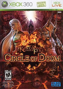Kingdom Under Fire Circle of Doom Xbox 360 Game Cover.jpg