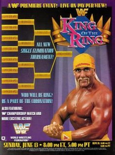 King of the Ring (1993) 1993 World Wrestling Federation pay-per-view event