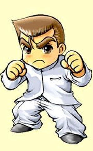 Kunio-kun - Kunio as he appears in Downtown Nekketsu Monogatari EX. In the US version (River City Ransom EX), he is known as Alex.