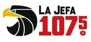 KOND - Image: La Jefa 107.5 KOND