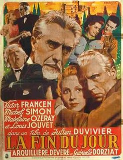 <i>The End of the Day</i> 1939 French film directed by Julien Duvivier