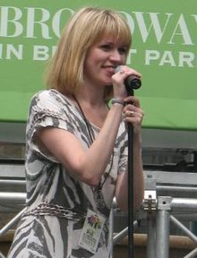 Lauren Kennedy Broadway in Bryant Park.JPG