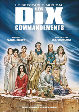 Les Dix Commandements (musical) - Cover of DVD release