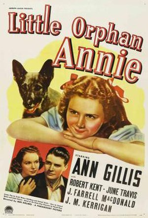 Little Orphan Annie (1938 film) - Theatrical release poster