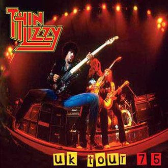 Major League Productions - MLPLIVE Thin Lizzy UK Tour 75 Cover