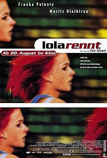 <i>Run Lola Run</i> 1998 film by Tom Tykwer