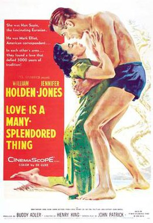 Love Is a Many-Splendored Thing (film) - Original film poster