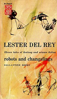 <i>Robots and Changelings</i> book by Lester del Rey