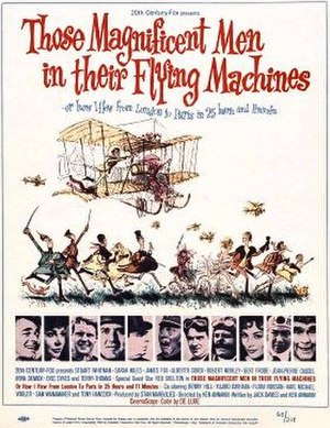 Those Magnificent Men in their Flying Machines - Theatrical poster