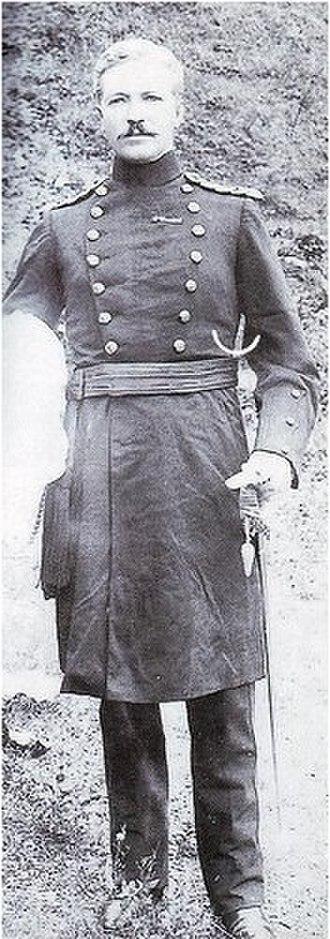 Reginald Edward Harry Dyer - Major Reginald Dyer at the Delhi Durbar of 1903