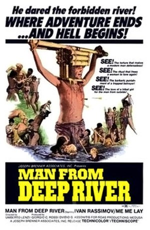 Man from the Deep River - Movie Poster for Il paese del sesso selvaggio