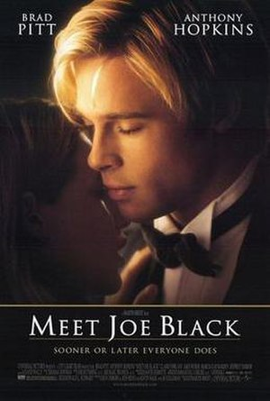 Meet Joe Black - Theatrical release poster