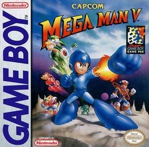 Mega Man V (Game Boy) - North American cover art
