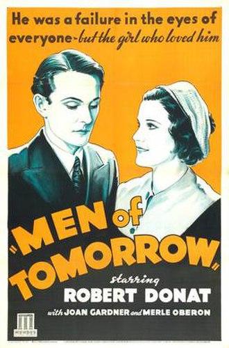 Men of Tomorrow - Release poster