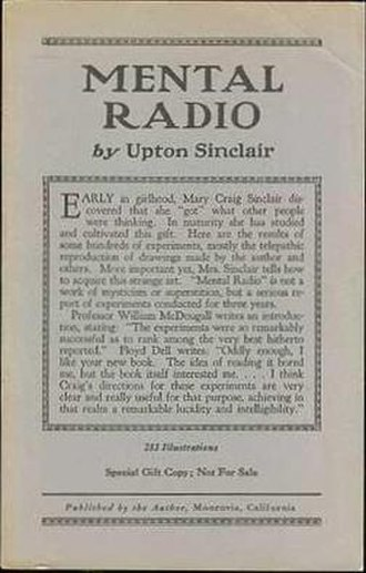 Mental Radio - First edition (self-published)