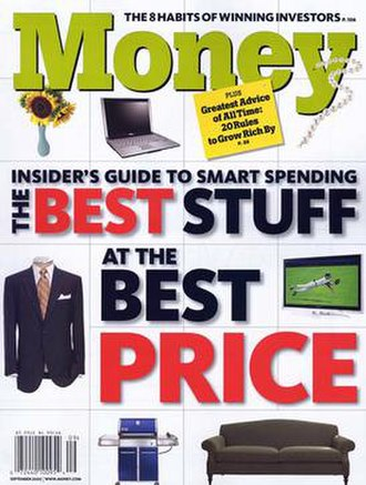 Money (magazine) - The September 2007 issue of Money