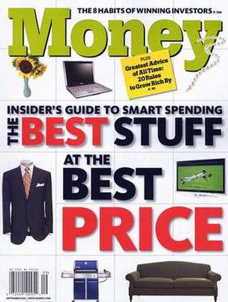 Money (magazine) - The September 2007 issue of Money