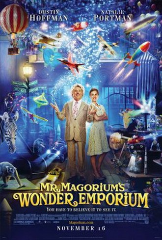 Mr. Magorium's Wonder Emporium - Theatrical release poster