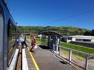 Kenepuru railway station railway station