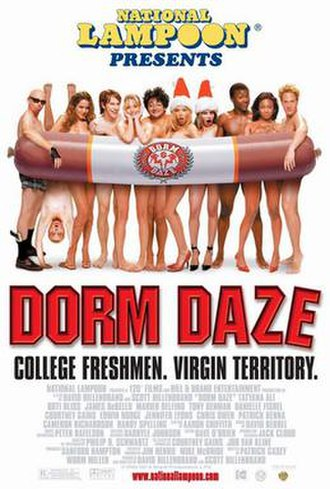 National Lampoon Presents Dorm Daze - Theatrical release poster