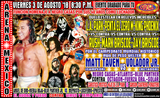 Negro Casas 40th Anniversary Show Professional wrestling show